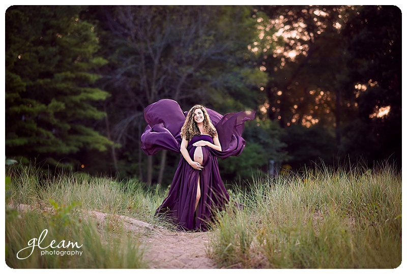 Evanston maternity photography
