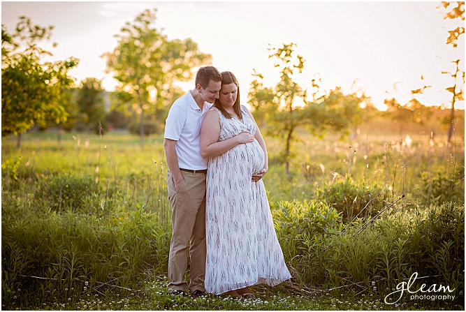 Northbrook maternity photography